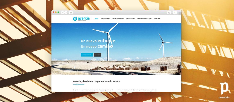 Azentia - Pantumaka Agencia de Publicidad en Murcia