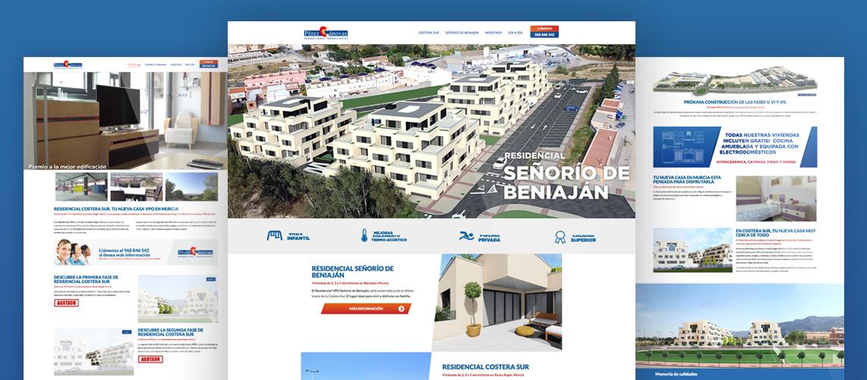 Web Pérez Cánovas - Pantumaka Agencia de Publicidad en Murcia
