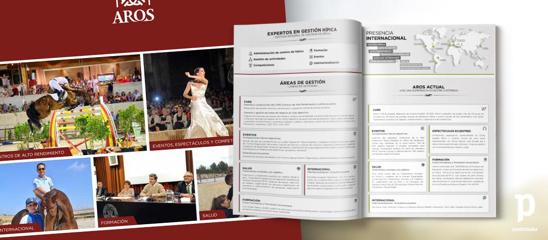 Aros Folleto y Publicidad- Pantumaka Agencia de Publicidad en Murcia