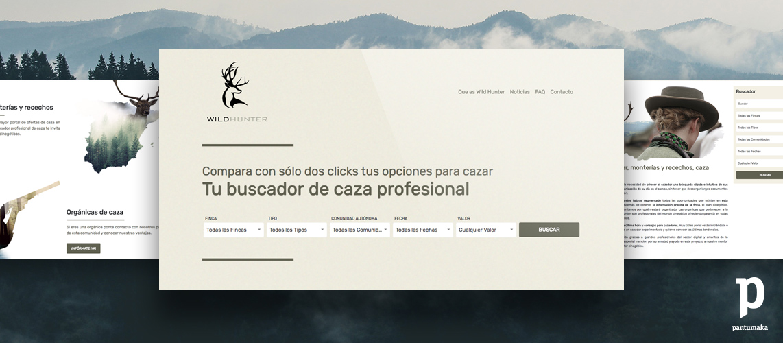 Wildhunter-Web-Pantumaka-Agencia-de-Publicidad-Murcia