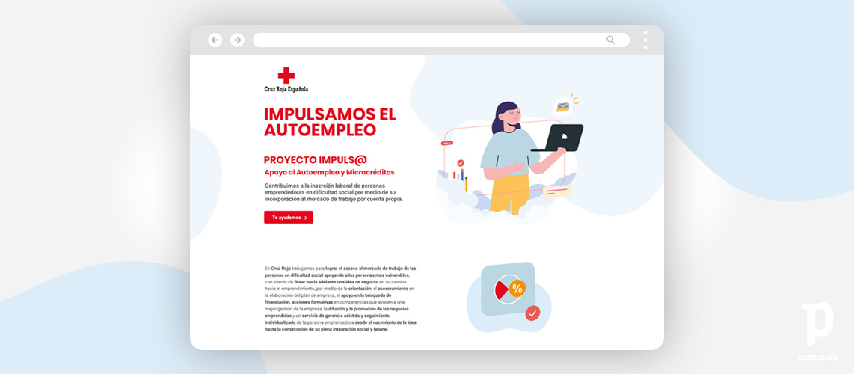 Cruz-Roja-Impulsa-landingPantumaka-Agencia-de-Publicidad-Murcia
