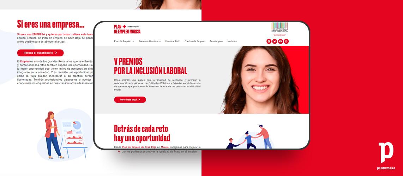 Cruz-Roja-V-premios-empleo-murcia-web-Agencia-de-Publicidad-Murcia