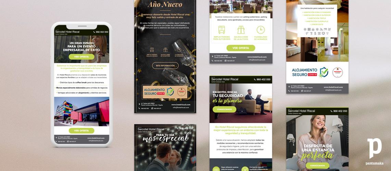 Hotel-Riscal-newsletter-Pantumaka-Agencia-de-Publicidad-Murcia